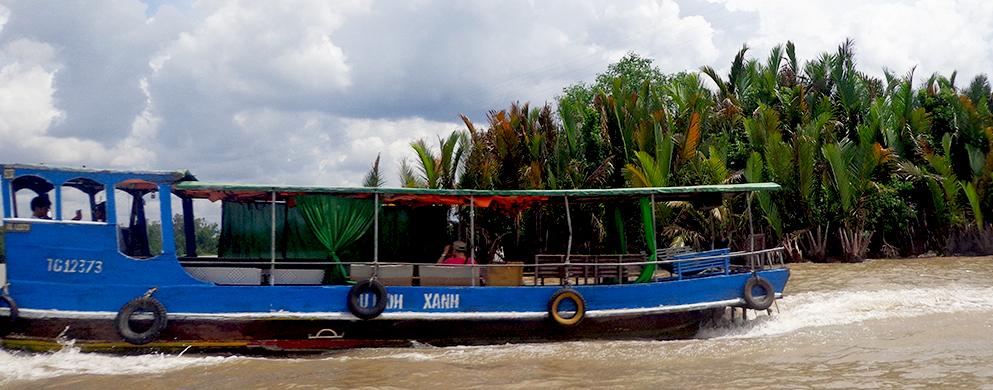 Balade sur la rivière Tien dans le delta du Mékong - Voyager au sud du Vietnam