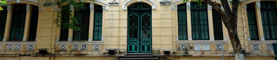 architecture coloniale à Hanoi