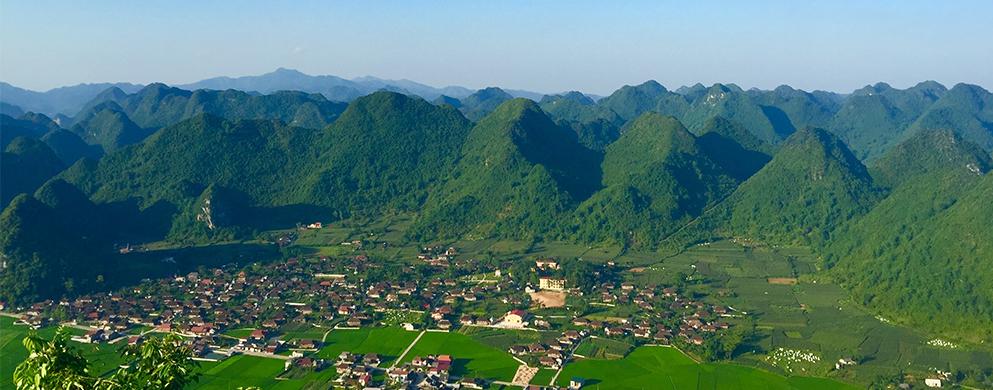 Vallée Bac Son - Nord Vietnam