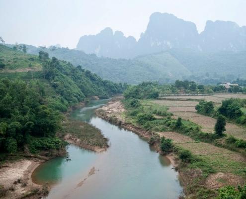 Rivière à Mai Chau