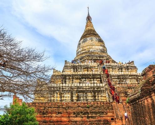 Temple millénaire à Bagan