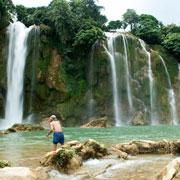 Les chutes d'eau de Ban Gioc