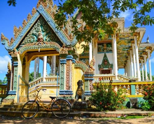 La ville de Battambang