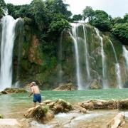 Les cascades de Ban Gioc dans la région de Cao Bang