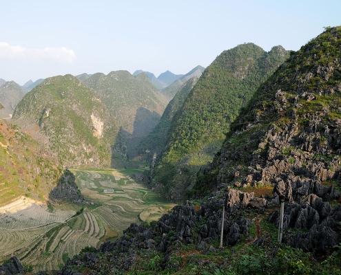 Les montagnes de ha Giang