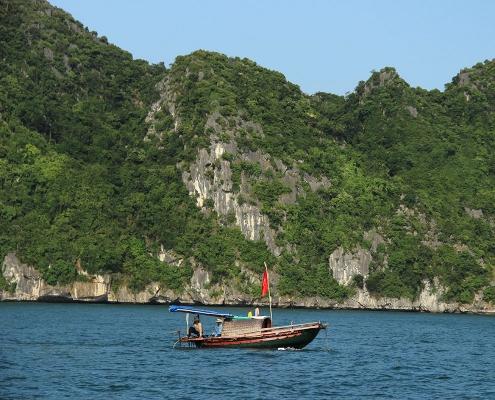 Bateau à Halong