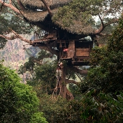 Le parc de Bokéo dans les environs de Huay Xai