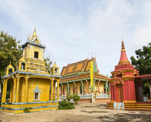 Kampong Cham, une beauté pittoresque au Cambodge