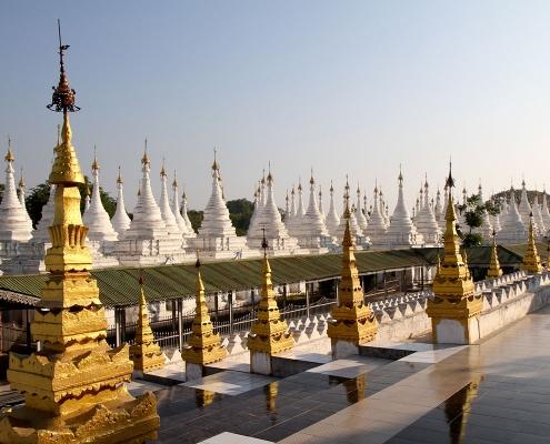 La pagode de Kuthodaw