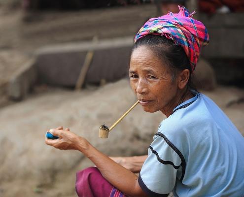 Femme de Luang Namtha