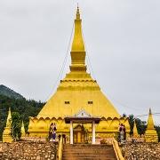 Le stupa doré de Luang Namtha