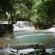 Les cascades de Kuang Si à Luang Prabang