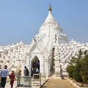 Pagode de Mingun dans les environs de Mandalay