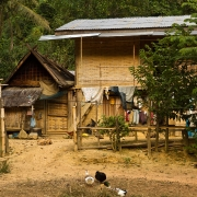 Nuit chez l'habitant à Muang Sing