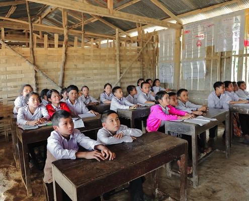Une école de Muang Sing