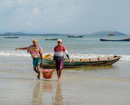 La plage de Ngapali