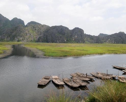 Bateaux de Ninh Binh