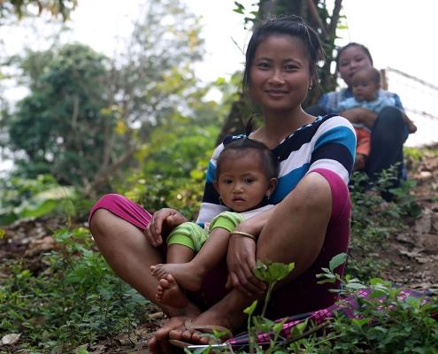 Femme de Nong Khiaw