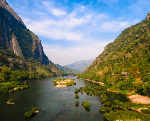 Nature dans la région de Nong Khiaw