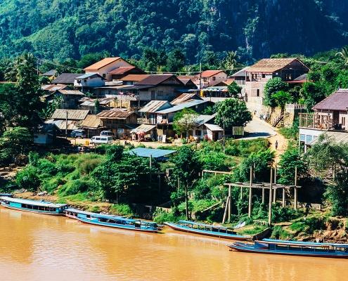 Le village de Nong Khiaw