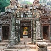 Le temple de Vat Phu à Paksé