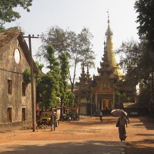 La ville de Pathein