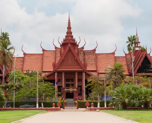 La capitale de Phnom Penh