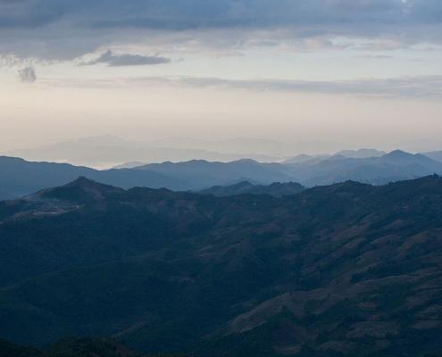 Panorama dans la région de Phongsaly