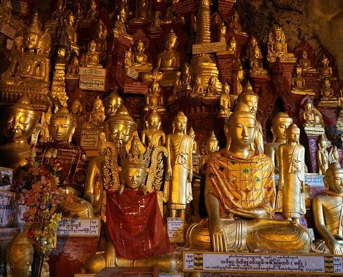 Les Bouddha de Pindaya