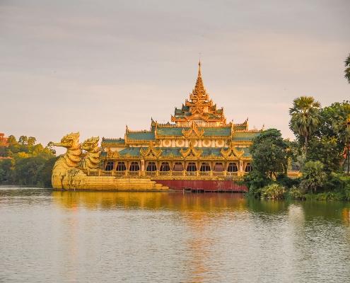 Dans les environs de Rangoun