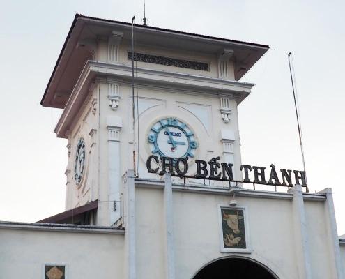 Ho Chi Minh Ville marché Ben Thanh