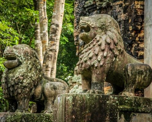 Kampong Thom et les anciens temples de Sambor Preik Kuk