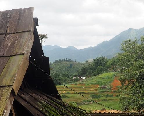 Maisons ethniques à Sapa