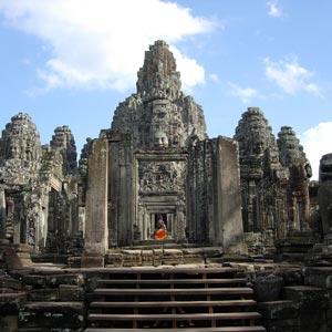 Siem Reap et le temple d'Angkor Vat