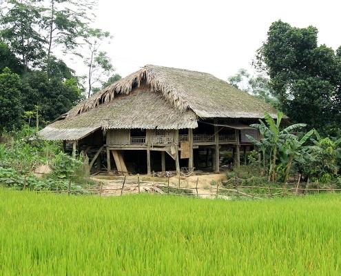 Maison de campagne à Thac Ba