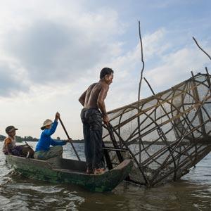 Le lac de Tonlé Sap