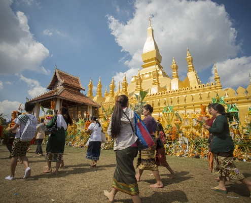 Pha That Luang de Vientiane