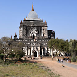 Temple That Bin Nyu Paya dans la plaine de Bagan au Myanmar