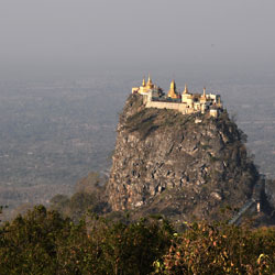 Mont Popa en Birmanie avec Carnets d'Asie