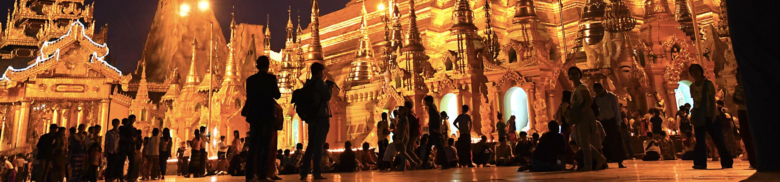 Visiter Yangon en Birmanie avec Carnets d'Asie