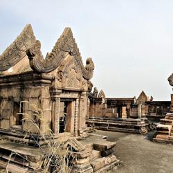 Le temple de Preah Vihear à l'architecture khmer