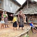 Villageois dans la réserve naturelle de Luang Nam Tha au Laos