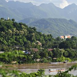 la ville de Luang Prabang au coeur de la jungle