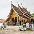 Façade du temple Xiengthong