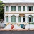 Maison coloniale à Luang Prabang au Laos