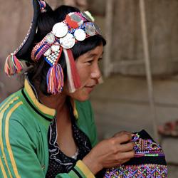 Femme ethnique à Muang Khua