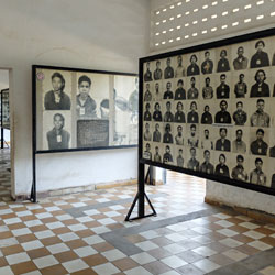 Musée Tuol Sleng à Phnom Penh