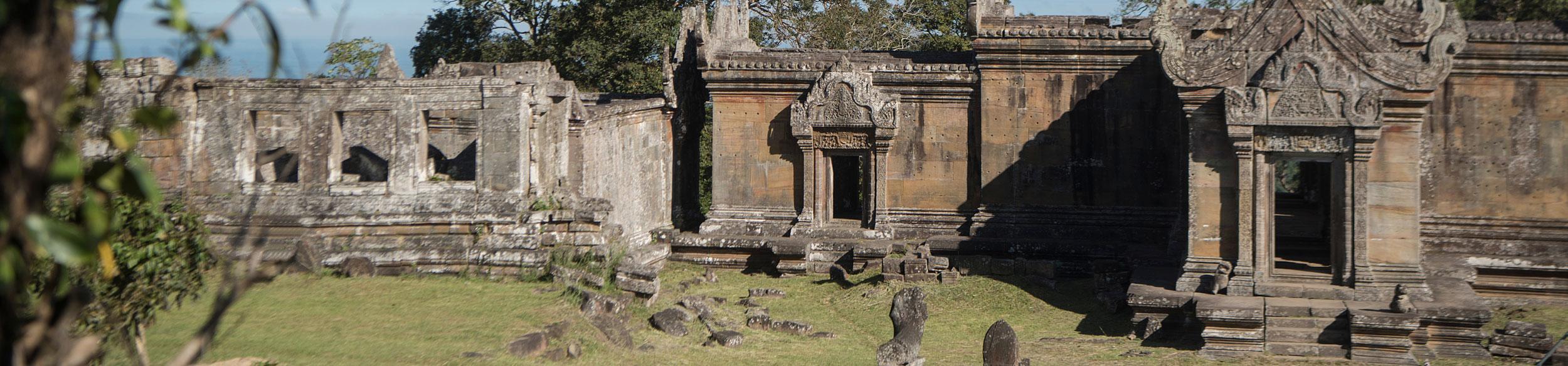 Temple Preah Vihear au nord de Siem Reap au Cambodge