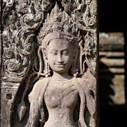 Bas relief du temple Angkor Thom