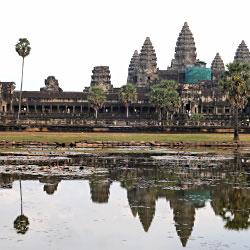 Le temple d'Angkor à Siem Reap